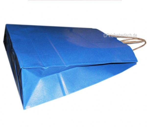Papiertasche Blau