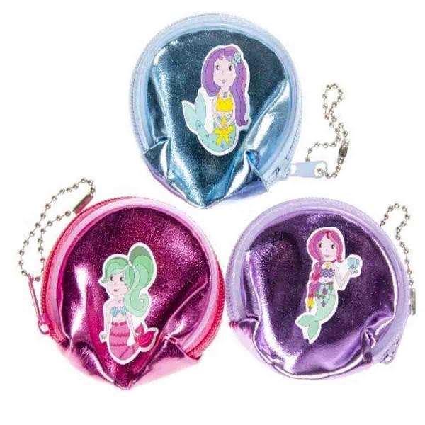 Schillernde Portemonnaies für kleine Meerjungfrauen - Preis 1 Stück