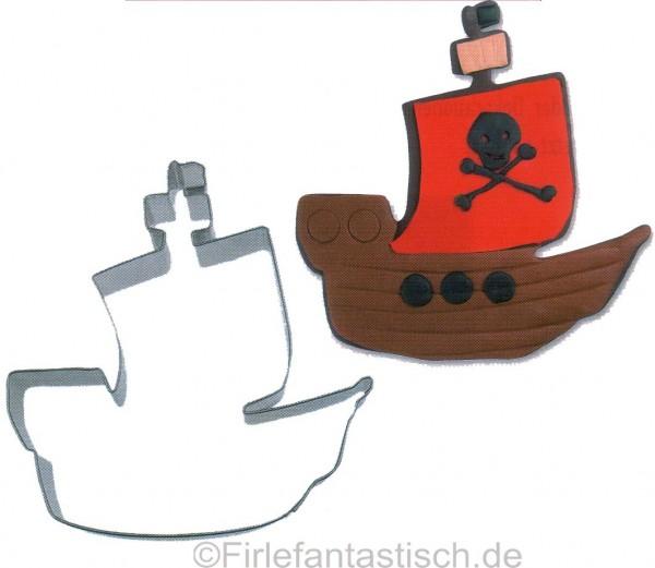 Keksausst. Piratenschiff