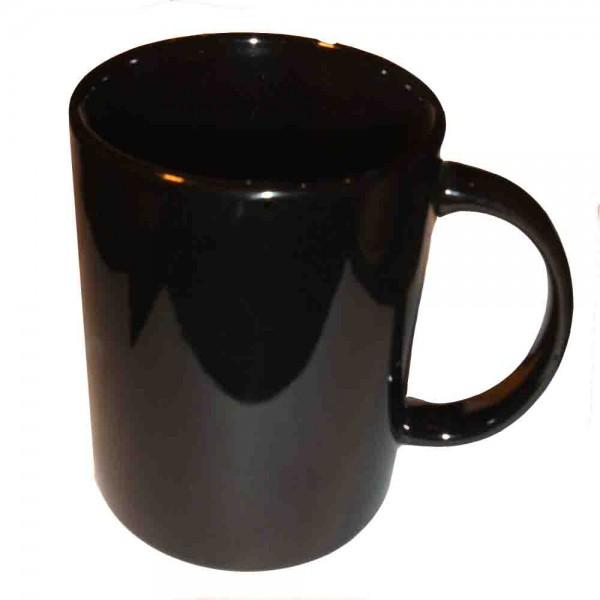 Schwarze Tasse
