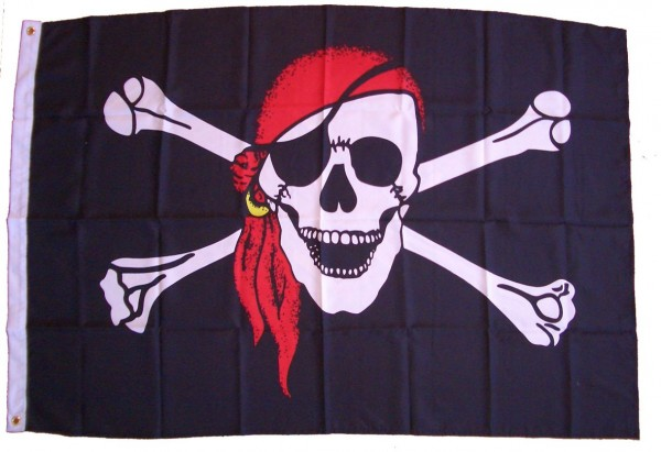 Piratenflagge Kinder
