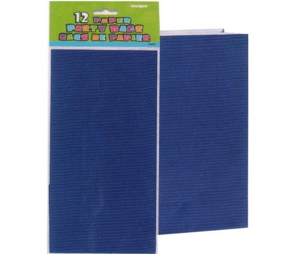 Geschenktüten Blau 12St.