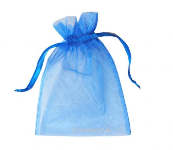 Organza-Säckchen Blau, klein