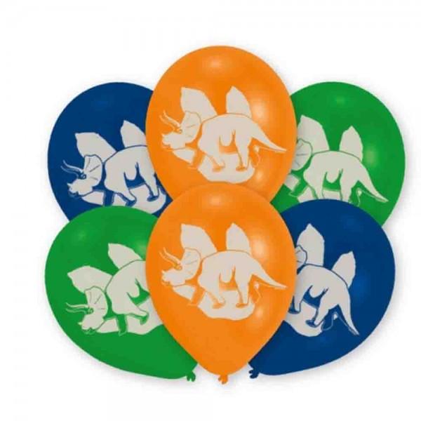 Luftballons für die Dinosaurier Dekoration