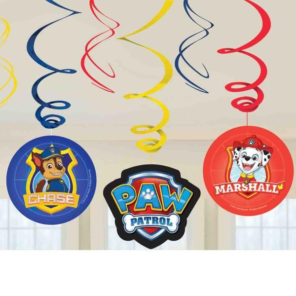 Dekoration für die Paw Patrol Party