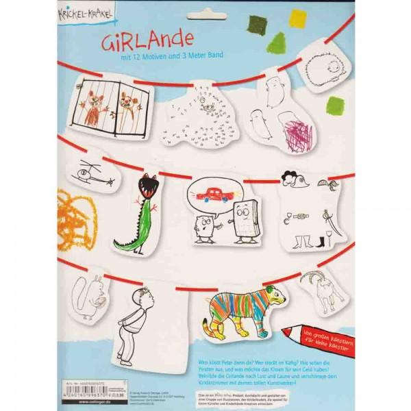 Krickel-Krackel Girlande
