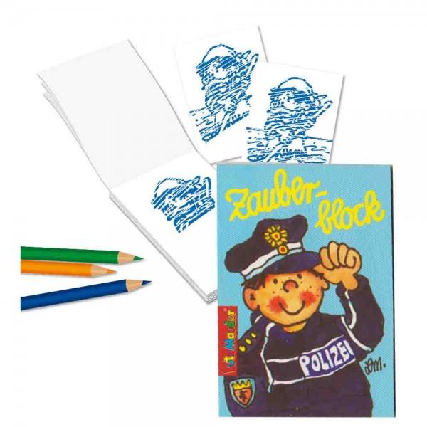 Zauberblock Polizei