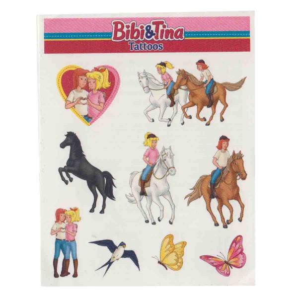 Lang haltende Bibi und Tina Tattoos