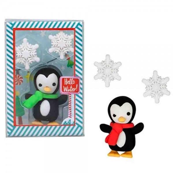 Schönes Mitgebsl: Radiergummi Pinguin