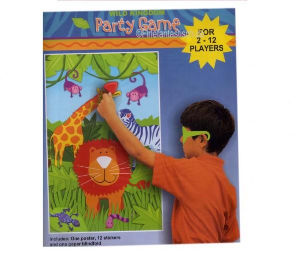 Dschungel-Partyspiel