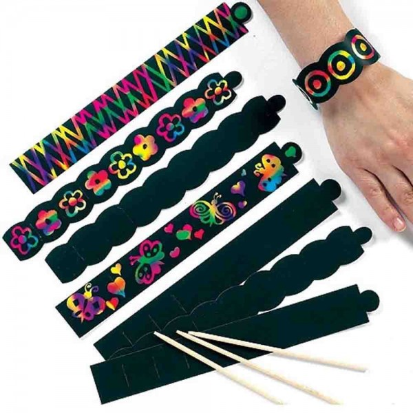 Kratzbild Armband 12 St.