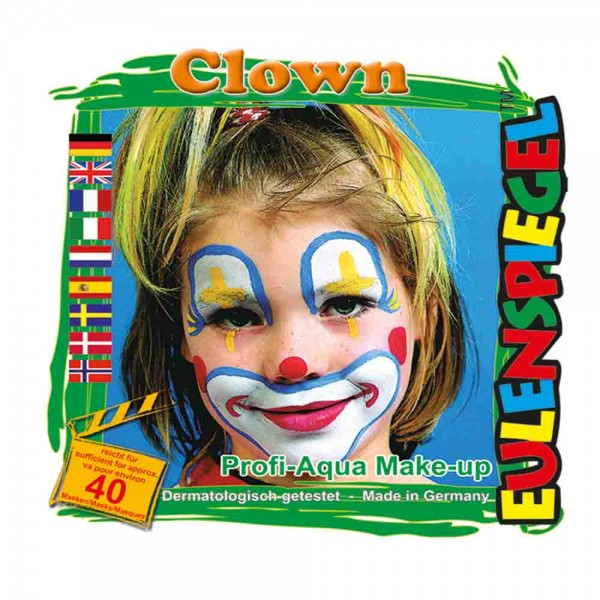 Clown-Aqua-Schminkset