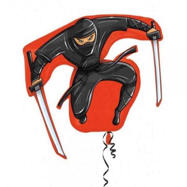 Toller Folienballon zum Thema Ninja-Käpfer
