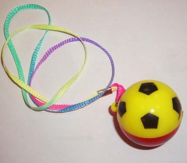 Blink-Fußball am Halsband