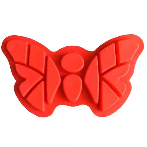 Große Silikonbackform Schmetterling