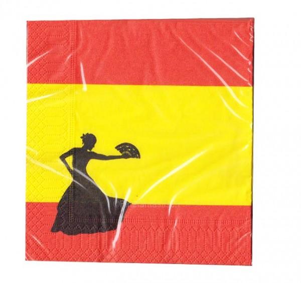 Spanien-Servietten 20 Stück