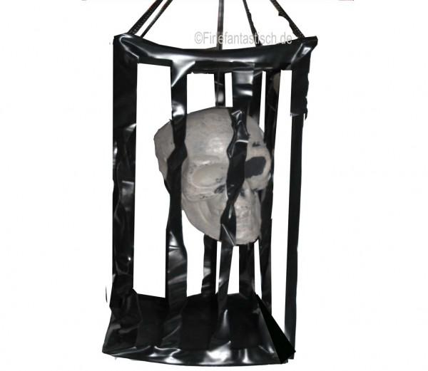 Totenkopf im Käfig