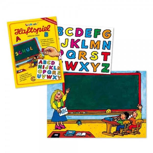 Haftspiel Buchstabenschule