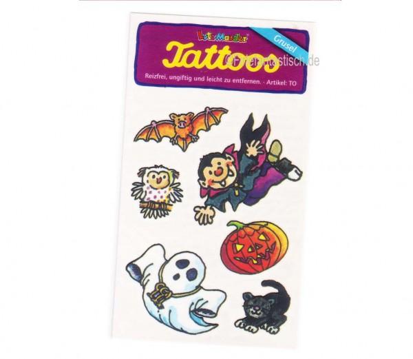 Halloween-Tattoo Vampir