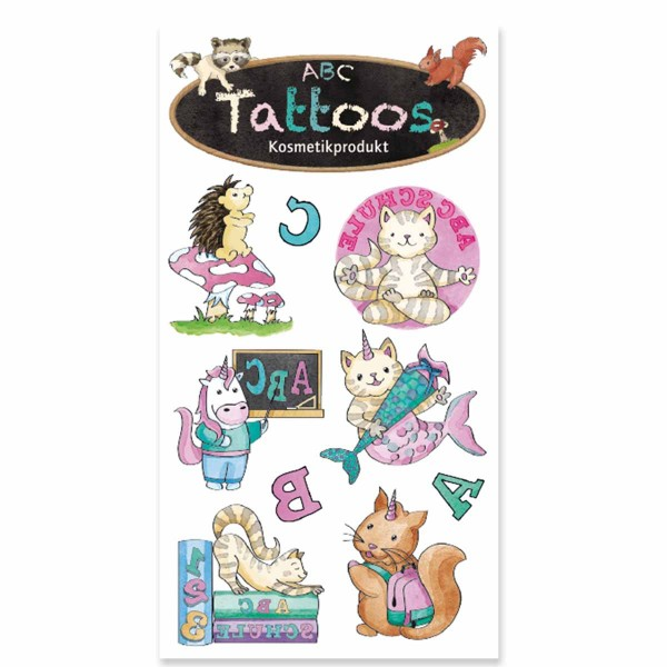 Tattoo ABC Mädchen