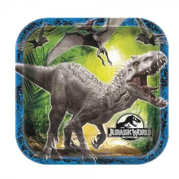 Teller für den Kindergeburtstag Dinosaurier