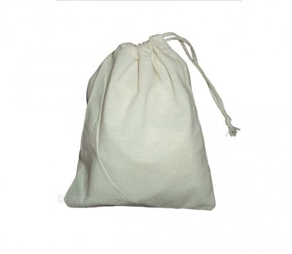 Baumwollsack mit Zugbändern für die individuelle Gestaltung