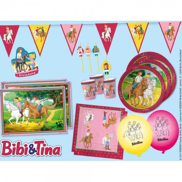 Umfangreiche Partybox für die Bibi und Tina Party