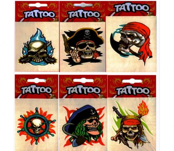 Totenkopf-Tattoo