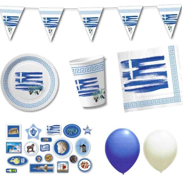 Partyset Griechenland