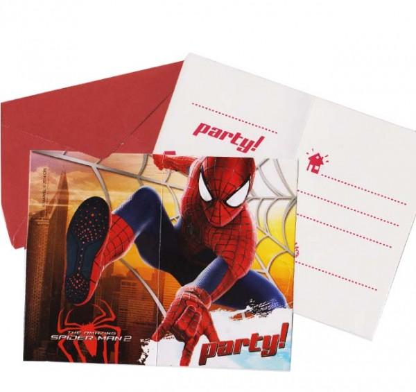 Einladungen Spiderman 2