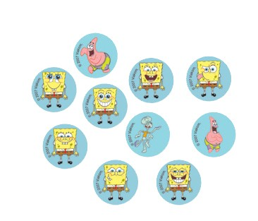 SpongeBob-Konfetti