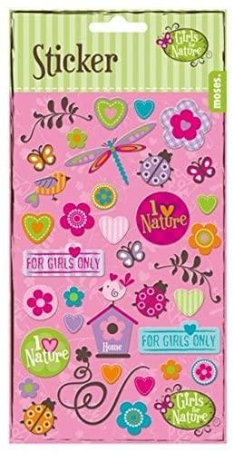 Mädchen-Sticker Girls for Nature