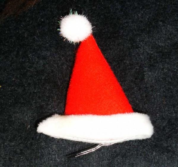 Haarclip Nikolausmütze