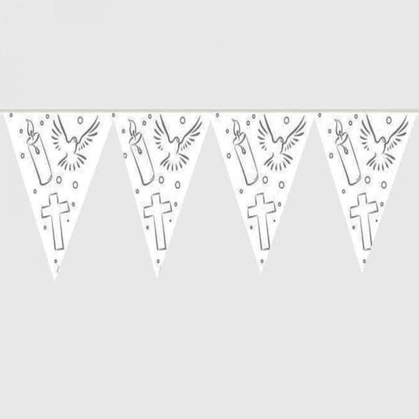 Wimpelkette Kommunion 10m