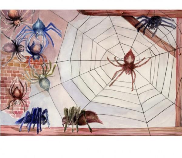 Spinnen-Platzsets 6St.
