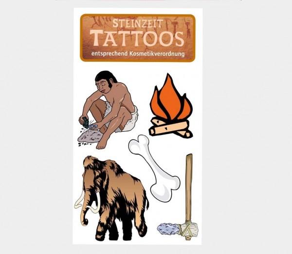 Steinzeit-Tattoo
