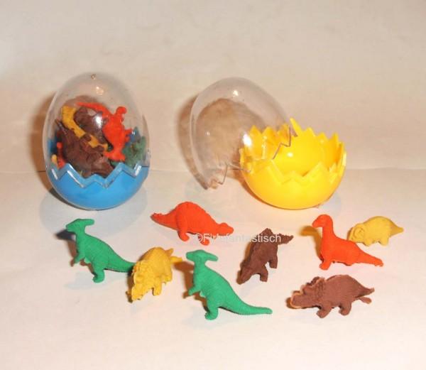 Dino-Radierer im Dino-Ei