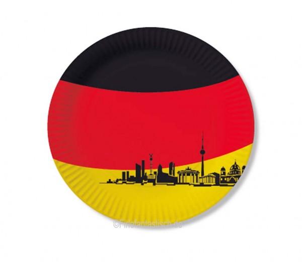Deutschland-Teller 10St.