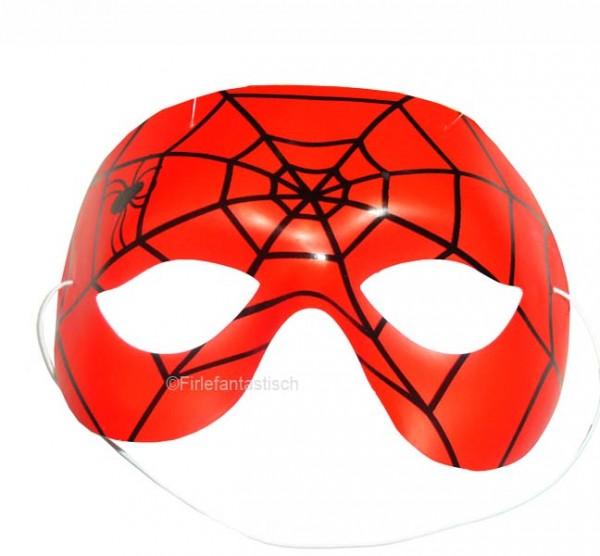 Rote Spinnen-Maske