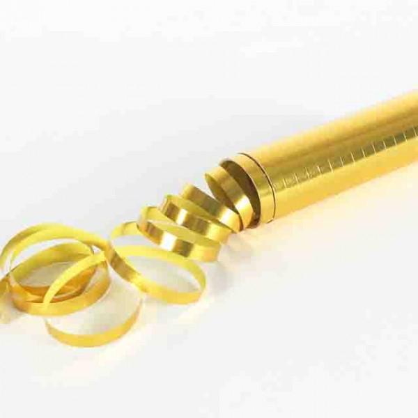 Metallic-Luftschlangen Gold