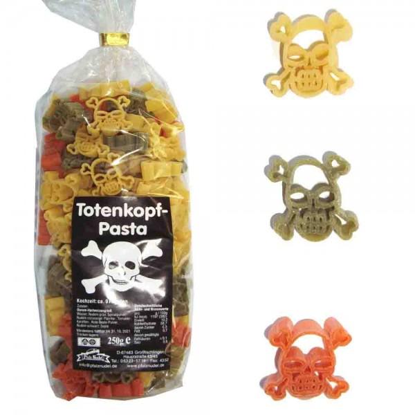 Totenkopf-Nudeln bunt 250g