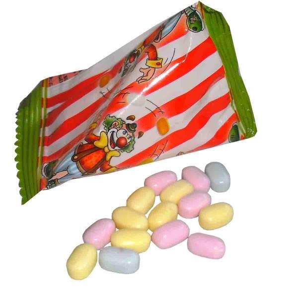 Leckere Traubenzucker Bonbons in der Pyramide