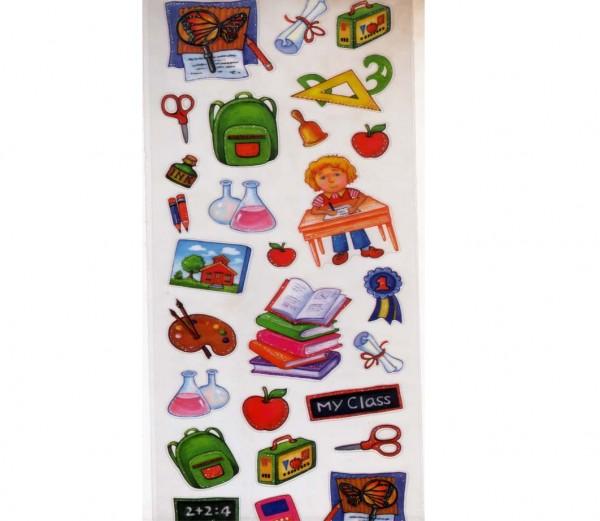 Glitter-Schul-Sticker
