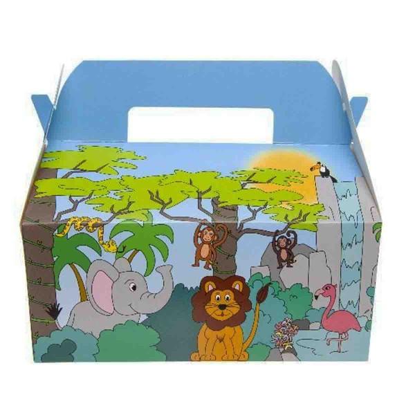 Dschungel Geschenkbox, 12 Stück