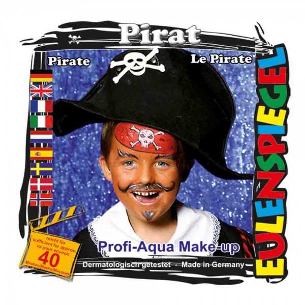 Piraten-Aqua-Schminkset