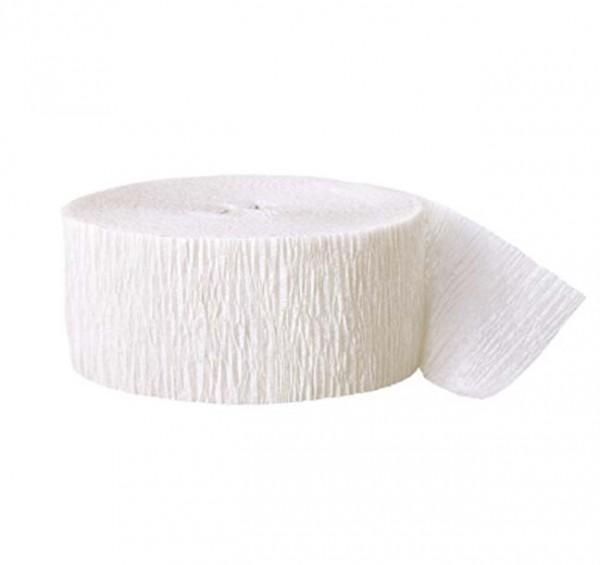 Kreppband Weiß
