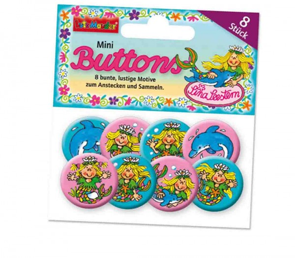 Mini-Buttons Nixe 8St.