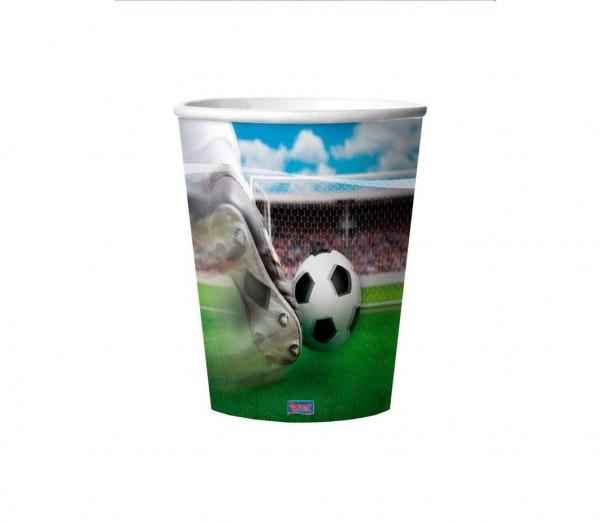Fußball-Becher 3D 4St.