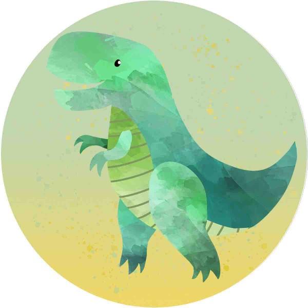 Essbarer Aufleger für den Dinokuchen