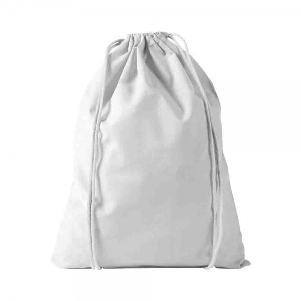 Baumwollrucksack weiß zum Bemalen und Gestalten